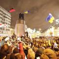 Ленина снесли в Киеве