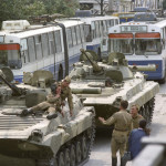 танки на улицах