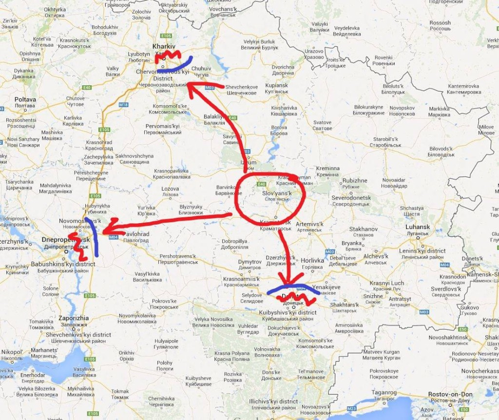 Славянск - стратегический центр Юго-Востока