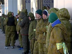 зеленые челвечики в Киеве