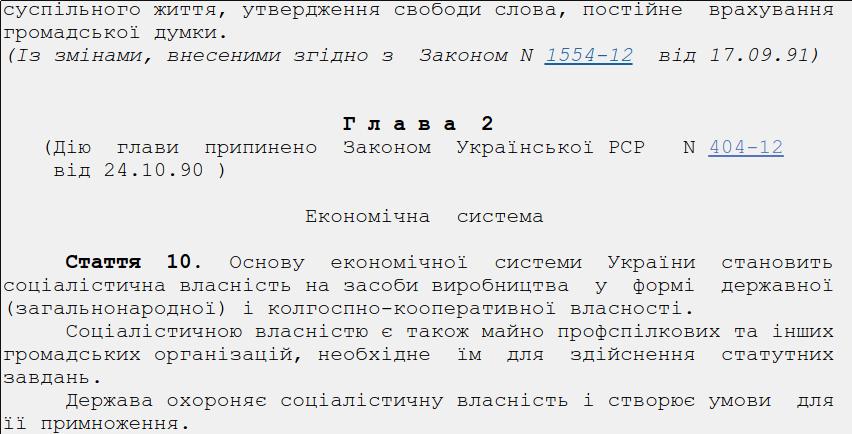 Конституция УРСР