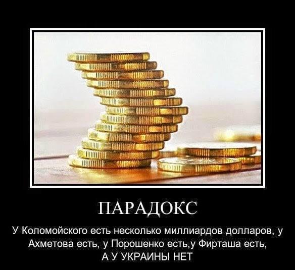 Украина ограбленная